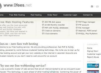 在 0fee 架設第一個自己的免費網站