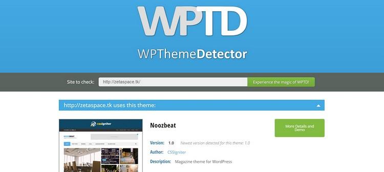如何查看網站所使用的WORDPRESS主題