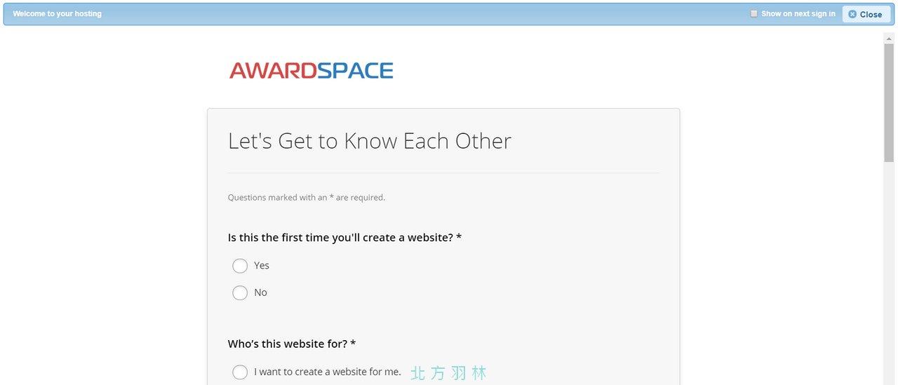 來自德國的免費虛擬主機:Awardspace