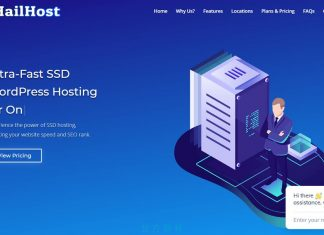 免費的 WordPress 主機:Hailhost