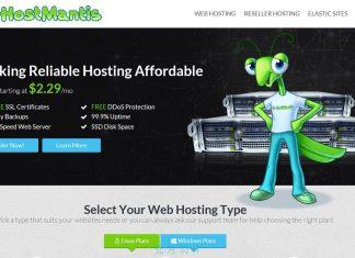 Hostmantis 便宜的小螳螂虛擬主機