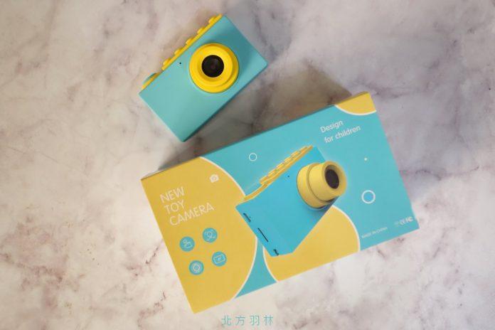 [開箱]培訓小小攝影師 可愛的積木造型兒童數位相機